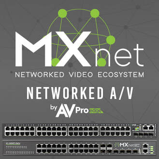 AVPro Edge Launches Networked AV Solution with MXNet