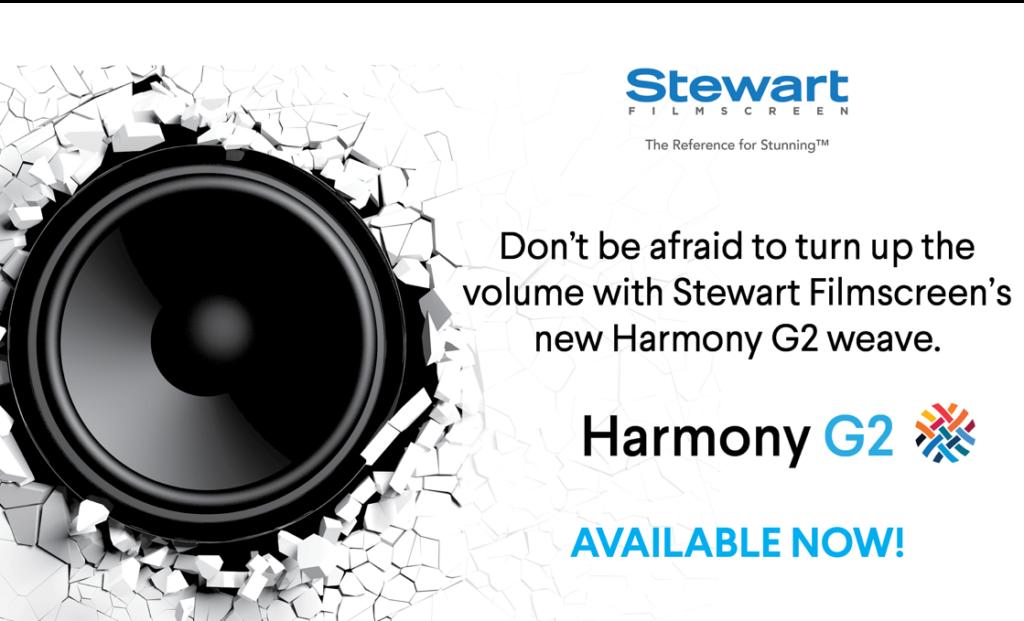 Stewart Filmscreen Harmony G2
