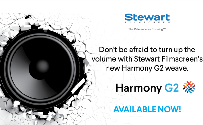 Introducing Harmony G2 | Stewart Filmscreen's New Weave Screen Material